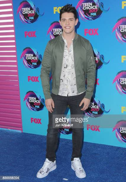 Actor Casey Cott arrives at the Teen Choice Awards 2017 at Galen Center on August 13 2017 in Los Angeles California