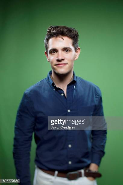 Actor Casey Cott from the television series Riverdale is photographed in the LA Times photo studio at ComicCon 2017 in San Diego CA on July 22 2017...