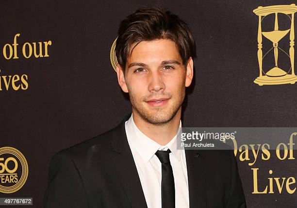 Actor Casey Deidrick attends the Days Of Our Lives 50th Anniversary at the Hollywood Palladium on November 7 2015 in Los Angeles California