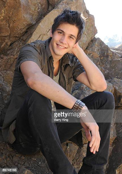 LOS ANGELES CA AUGUST 07 Actor Casey Deidrick poses during a photo shoot on August 7 2009 in Los Angeles California