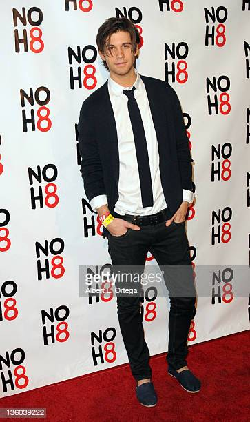 Actor Casey Jon Deidrick arrives for the City Of West Hollywood's Proclaimation of Dec 13th as NOH8 Day Held at The House Of Blues on December 13...