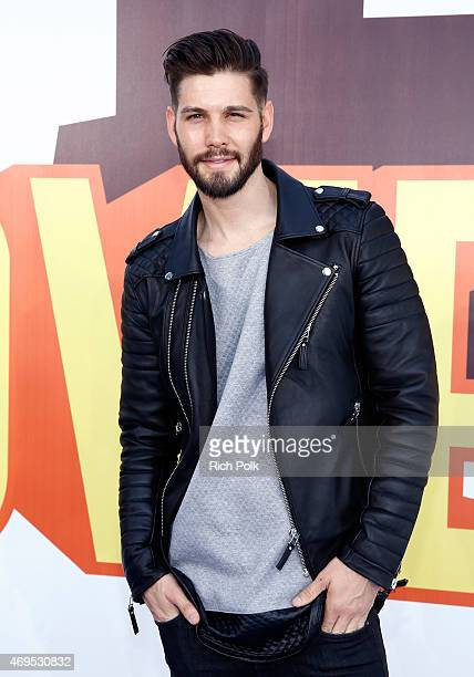 Actor Casey Jon Deidrick attends The 2015 MTV Movie Awards at Nokia Theatre LA Live on April 12 2015 in Los Angeles California