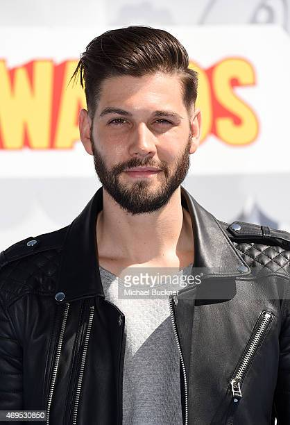 Actor Casey Jon Deidrick attends The 2015 MTV Movie Awards at Nokia Theatre L.A. Live on April 12, 2015 in Los Angeles, California.