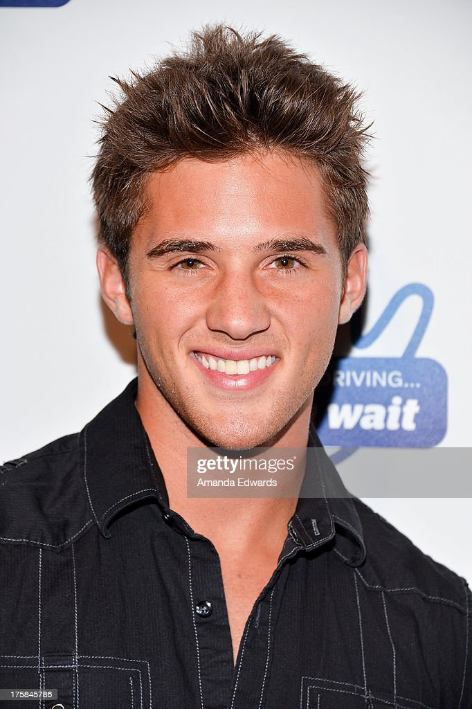Actor Casey Moss arrives at a special Los Angeles screening of Werner Herzog's 'From One Second To The Next' at the SilverScreen Theater at the Pacific Design Center on August 8, 2013 in West Hollywood, California.