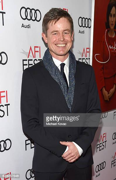 Actor Caspar Phillipson attends the premiere of 'Jackie' at AFI Fest 2016 presented by Audi at The Chinese Theatre on November 14 2016 in Hollywood...