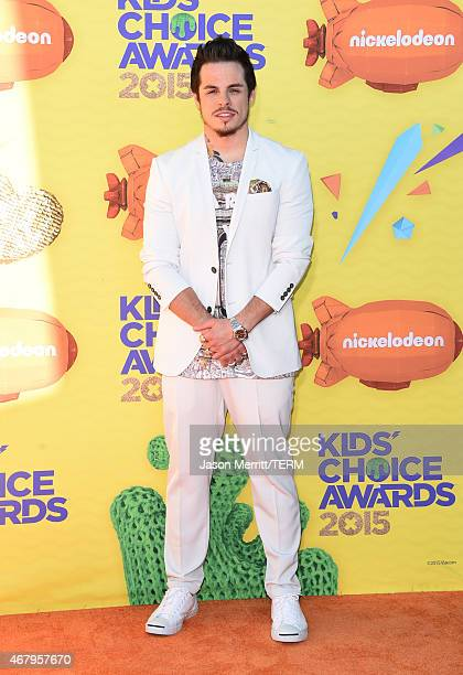 Actor Casper Smart attends Nickelodeon's 28th Annual Kids' Choice Awards held at The Forum on March 28 2015 in Inglewood California
