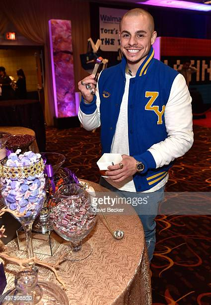 Actor Casper Smart attends the gift lounge during the 16th Latin GRAMMY Awards at the MGM Grand Garden Arena on November 17 2015 in Las Vegas Nevada