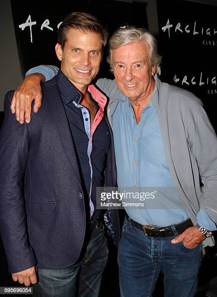 Actor Casper Van Dien and director Paul Verhoeven attend the Arclight Presents screening of Starship Troopers at ArcLight Hollywood on August 25 2016...