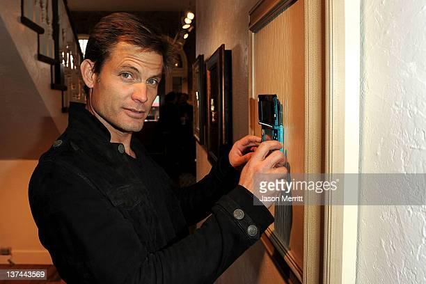Actor Casper Van Dien attends day 1 of the Nintendo 3DS Experience Lounge on January 20 2012 in Park City Utah