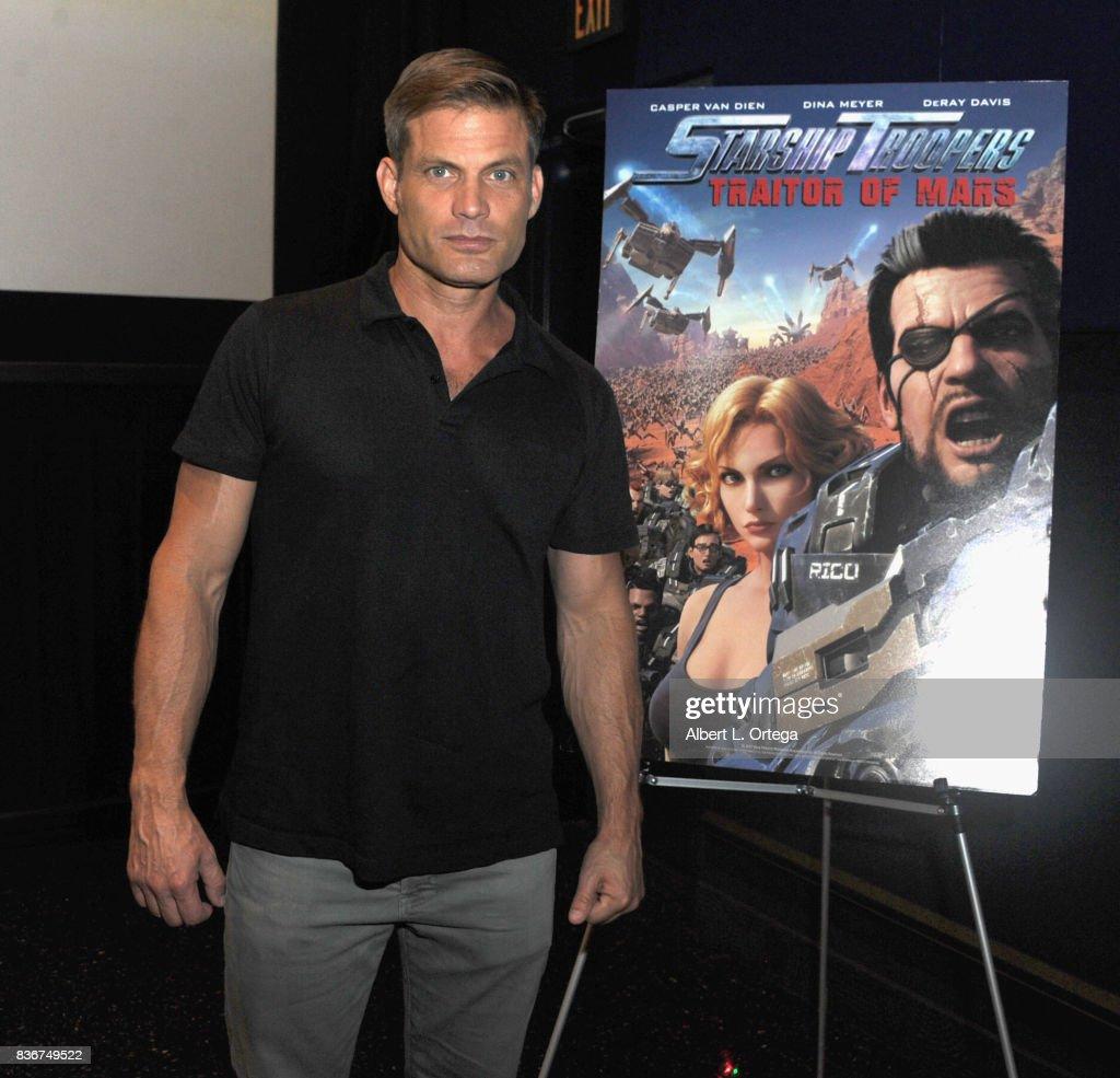 Actor Casper Van Dien participates in the