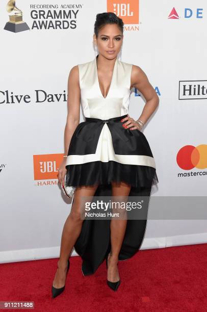 Actor Cassie Ventura attends the Clive Davis and Recording Academy PreGRAMMY Gala and GRAMMY Salute to Industry Icons Honoring JayZ on January 27...