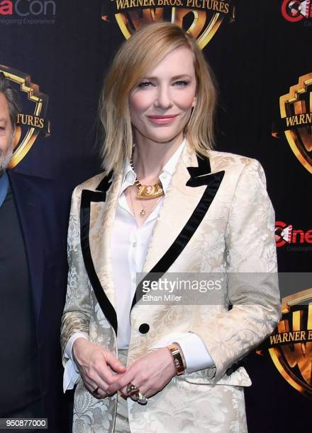 """Actor Cate Blanchett attends CinemaCon 2018 Warner Bros Pictures Invites You to """"The Big Picture"""" an Exclusive Presentation of our Upcoming Slate at..."""