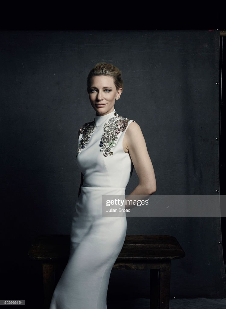 Cate Blanchett, Harpers Bazaar UK, February 1, 2016