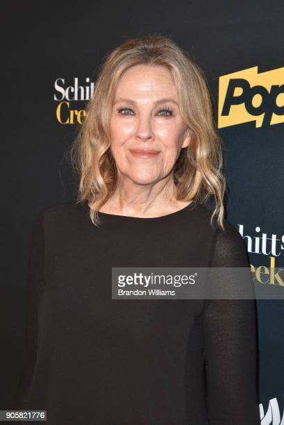 Actor Catherine O'Hara attends the premiere 'Schitt's Creek' season 4 at ArcLight Hollywood on January 16 2018 in Hollywood California