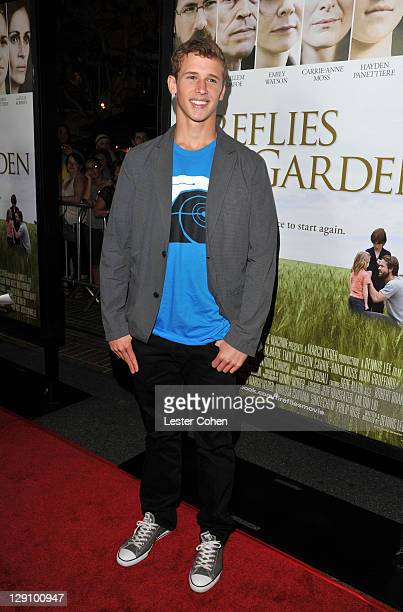 Actor Cayden Boyd arrives at 'Fireflies In The Garden' premiere at the Pacific Theater at the Grove on October 12 2011 in Los Angeles California
