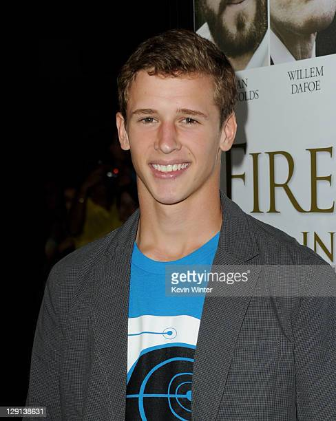 Actor Cayden Boyd arrives at the premiere of 'Fireflies in the Garden' at The Grove on October 12 2011 in Los Angeles California