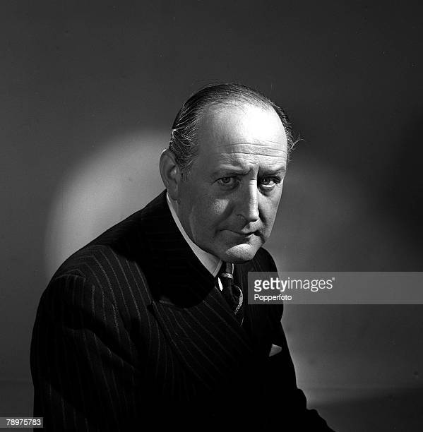 1951 Actor Cecil Parker is pictured on the set of the film His Excellency