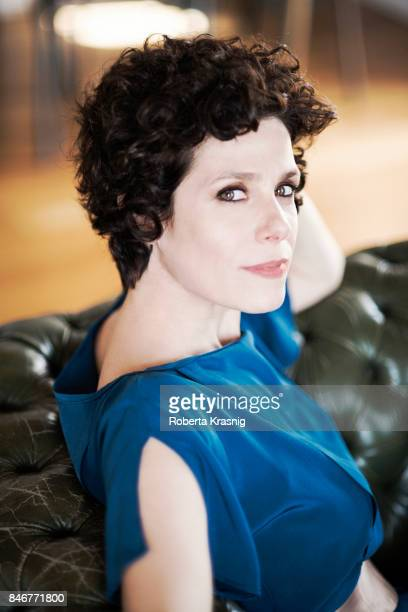 Actor Cecilia Dazzi is photographed on April 12, 2016 in Rome, Italy.