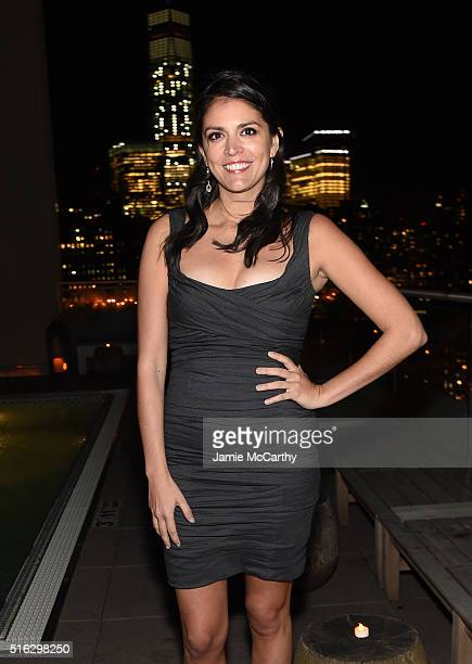 Actor Cecily Strong attends the After Party for a screening of Sony Pictures Classics' 'The Bronze' hosted by the Cinema Society SELF at The Jimmy at...