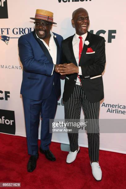 Actor Cedric the Entertainer and designer Daniel Day attend Apollo Spring Gala 2017 at The Apollo Theater on June 12 2017 in New York City