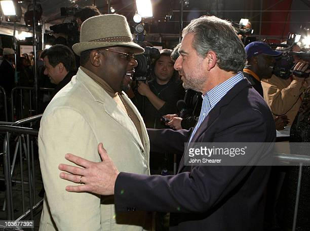Actor Cedric the Entertainer and producer Charles Castaldi arrive to the premiere of Welcome Home Roscoe Jenkins at Grauman's Chinese Theatre on...