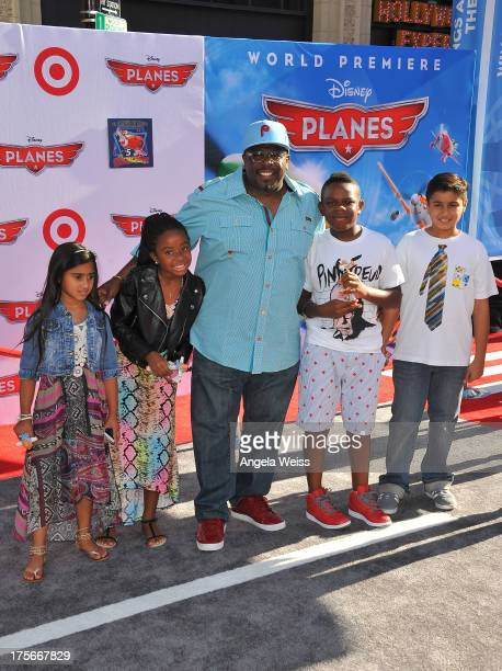 Actor Cedric the Entertainer arrives at the premiere of Disney's 'Planes' presented by Target at the El Capitan Theatre on August 5 2013 in Hollywood...