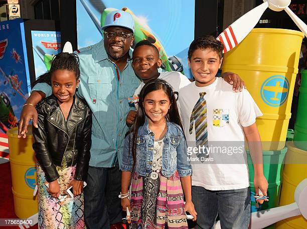 Actor Cedric the Entertainer attends the premiere of Disney's 'Planes' at the El Capitan Theatre on August 5 2013 in Hollywood California