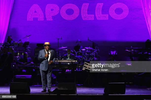 Actor Cedric the Entertainer performs during the Apollo Spring Gala 2017 at The Apollo Theater on June 12 2017 in New York City