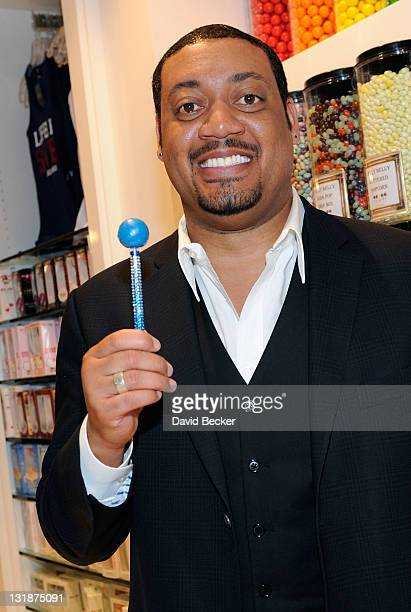 Actor Cedric Yarbrough appears at the Sugar Factory at Paris Las Vegas on March 19 2011 in Las Vegas Nevada
