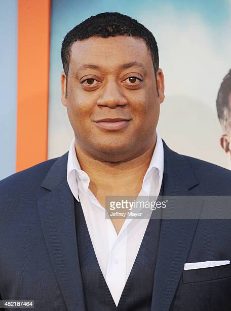 Actor Cedric Yarbrough arrives at the Premiere Of Warner Bros 'Vacation' at Regency Village Theatre on July 27 2015 in Westwood California
