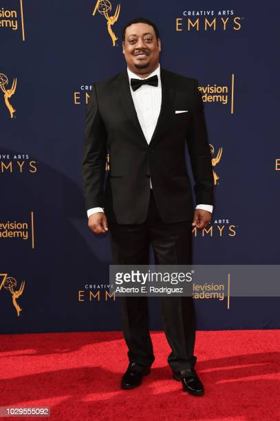 Actor Cedric Yarbrough attends the 2018 Creative Arts Emmy Awards at Microsoft Theater on September 8 2018 in Los Angeles California