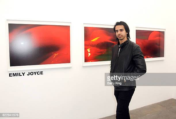 Actor Cesar D' La Torre attends 'Hindsight Is 30/40 A Group Photographer Exhibition' at The Salon at Automatic Sweat on November 12 2016 in Los...