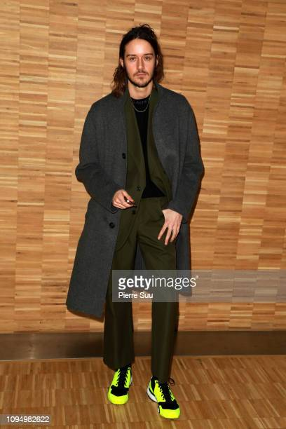 Actor Cesar Domboy attends the Acne Studio Menswear Fall/Winter 20192020 show as part of Paris Fashion Week on January 16 2019 in Paris France