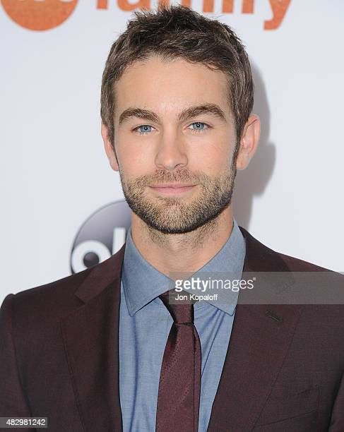 Actor Chace Crawford arrives at Disney ABC Television Group's 2015 TCA Summer Press Tour at the Beverly Hilton Hotel on August 4 2015 in Beverly...