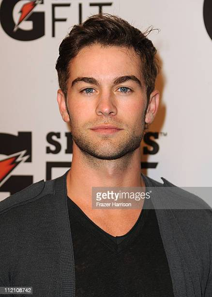 Actor Chace Crawford arrives at Gatorade's G Series Fit Launch Party at the SLS Hotel on April 12 2011 in Los Angeles California