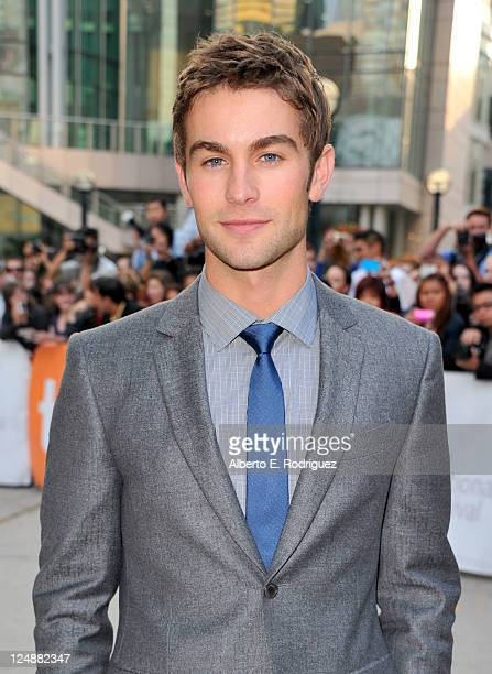 Actor Chace Crawford arrives at 'Peace Love Misunderstanding' Premiere at Roy Thomson Hall during the 2011 Toronto International Film Festival on...