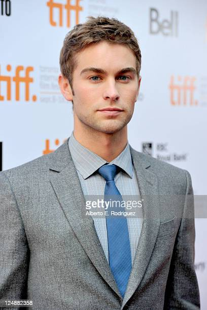 Actor Chace Crawford arrives at Peace Love Misunderstanding Premiere at Roy Thomson Hall during the 2011 Toronto International Film Festival on...