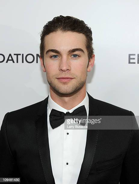 Actor Chace Crawford arrives at the 19th Annual Elton John AIDS Foundation Academy Awards Viewing Party at the Pacific Design Center on February 27...