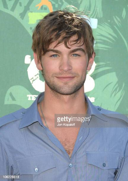 Actor Chace Crawford arrives at the 2008 Teen Choice Awards at Gibson Amphitheater on August 3 2008 in Los Angeles California
