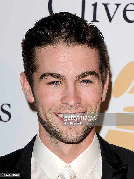 Actor Chace Crawford arrives at the 2011 PreGRAMMY Gala and Salute To Industry Icons Honoring David Geffen at Beverly Hilton on February 12 2011 in...