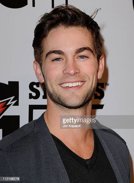Actor Chace Crawford arrives at the Gatorade's New G Series Fit Launch Party at SLS Hotel on April 12 2011 in Beverly Hills California