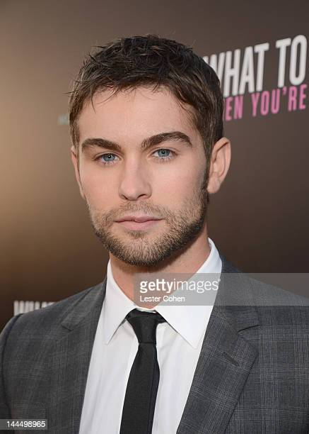Actor Chace Crawford arrives at the Los Angeles premiere of What To Expect When You're Expecting at Grauman's Chinese Theatre on May 14 2012 in...