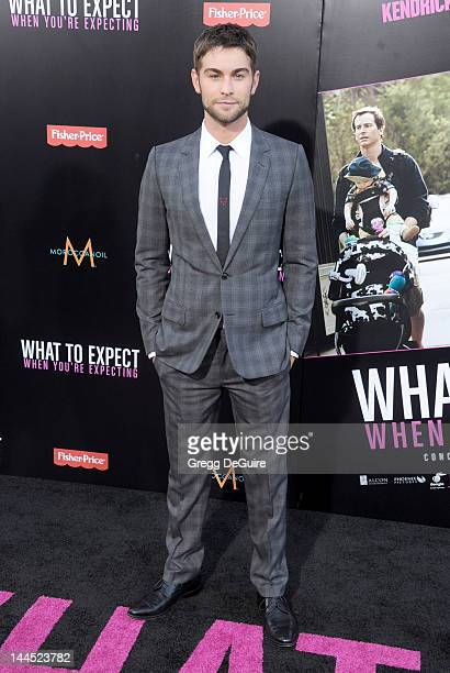 Actor Chace Crawford arrives at the Los Angeles premiere of 'What To Expect When You're Expecting' at Grauman's Chinese Theatre on May 14 2012 in...