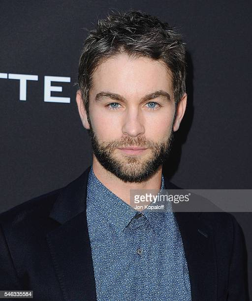Actor Chace Crawford arrives at the Los Angeles Premiere Undrafted at ArcLight Hollywood on July 11 2016 in Hollywood California