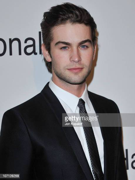 Actor Chace Crawford arrives at The Recording Academy's 2010 GRAMMY Salute To Icons Honoring Clive Davis at The Beverly Hilton Hotel on January 30...