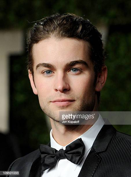 Actor Chace Crawford arrives at the Vanity Fair Oscar Party held at Sunset Tower on February 27 2011 in West Hollywood California