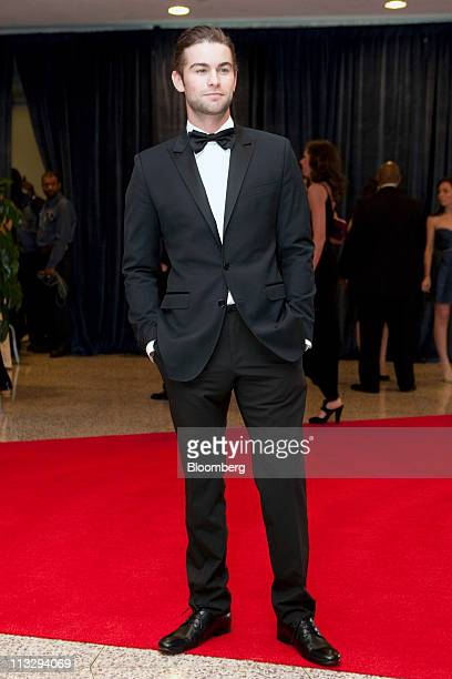 Actor Chace Crawford arrives for the White House Correspondents' Association dinner in Washington DC US on Saturday Aprill 30 2011 The dinner raises...