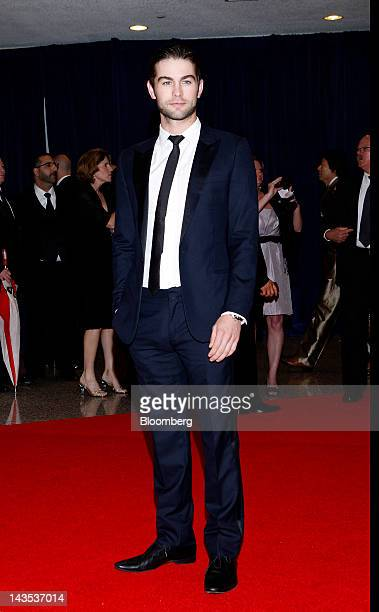 Actor Chace Crawford arrives for the White House Correspondents' Association dinner in Washington DC US on Saturday April 28 2012 The 98th annual...