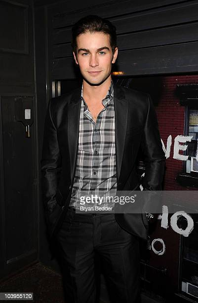 Actor Chace Crawford attends a private dinner hosted by CHANEL for Karl Lagerfeld at 82 Mercer on September 9 2010 in New York City