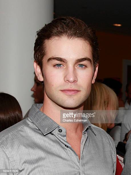 Actor Chace Crawford attends a screening of Mao's Last Dancer at the Crosby Street Hotel on August 16 2010 in New York City